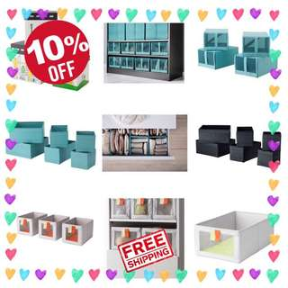 🎉😍 Sale - Ikea Boxes and Organizers