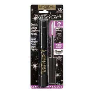🌟IN STOCK🌟 Loreal Telescopic Carbon Black Mascara