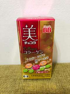 🚚 日本正品 Chocola BB collagen 俏正美 膠原蛋白錠 40日120錠
