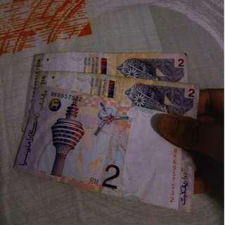 Vintage RM 2 notes