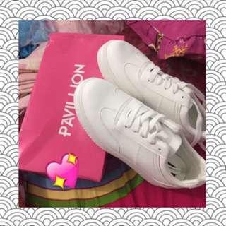 Sepatu putih sneakers white NEW NET!
