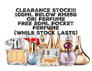 FREE 20ML WITH ANY PERFUME PURCHASE