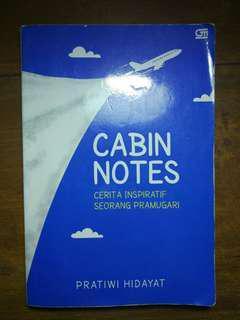 Cabin Notes (Pratiwi Hidayat)