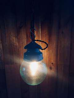 歐洲陶瓷玻璃吊燈