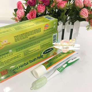 Tiens tianshi odol herbal tooth paste spearmint mint infeksi gigi radang gusi