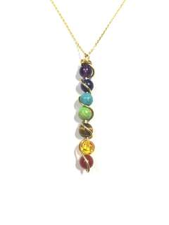 Chakra necklace stainless