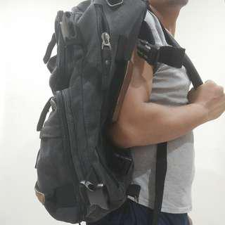 2-in-1 convertible backpack