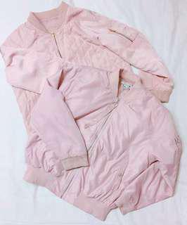 Pink Bomber Jacket Bundle