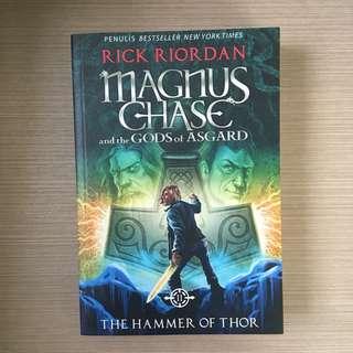 Novel magnus chase