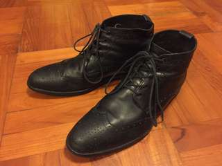 PLACEBO Shoes Classic formal Boots English style HK Brand