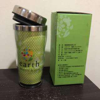 🚚 Earth Music 304不鏽鋼保溫杯 全新 450C.C