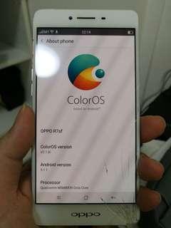 Oppo r7sf (crack screen)