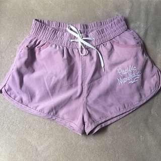 Dusty rose shorts