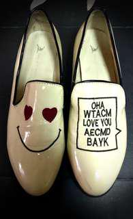 🚚 ♥愛心微笑皮鞋⭐
