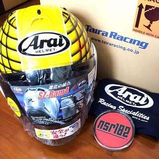 Arai SZ-RAM4 Taira Racing Yellow LTD™️