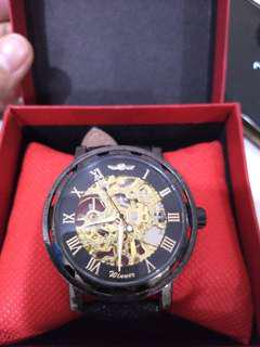 Repriced!Janus Mechanical Hand Watch Free SF in MM