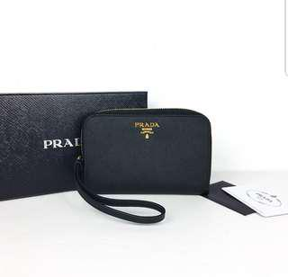 Prada wallet/wristlet - Authentic