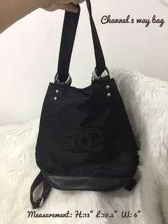 Channel 3 way bag