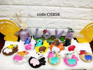 Cute chicken key chain bazaar resell item giveaways