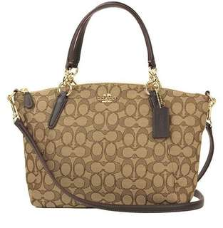 coach kelsey signature small