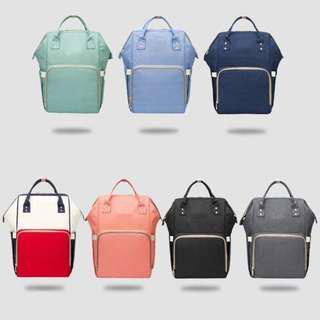 Large Capacity Multi-functional Diaper Bag with Shoulders Strap