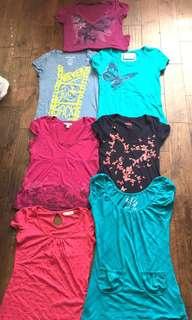 7 T-Shirts Bundle
