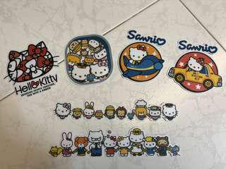 Sanrio characters stickers