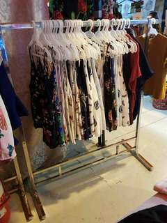 Stainless clothes rack