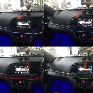 Elantra Dashboard Optic light