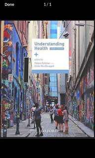 eBook - Understanding Health 4th ed.