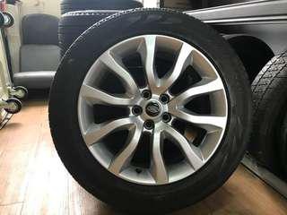 Original 20inch Land Rover Range Rover Wheels