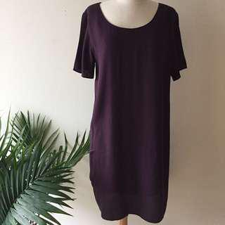 Wilfred Free Burgundy Dress