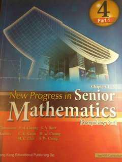 New Progress in Senior Mathematics Book 4 (Compulsory Part)(2009)