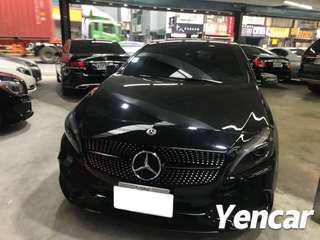 FB搜尋【阿彥嚴選認證車-Yencar】2017年 A180 AMG Line 、中古車、二手車、全額貸、車換車