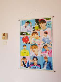 Wanna One Hanging Poster (90cm x 60cm)
