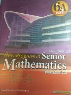 New Progress in Senior Mathematics Book 6A (Compulsory Part)