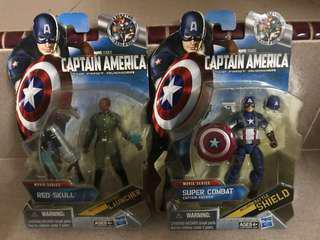 Marvel Captain America & Red Skull