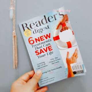 ASIA READER'S DIGEST JUNE 2018 EDITION