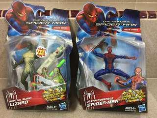 Marvel Spider Man & Lizard