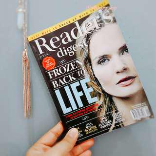 ASIA READER'S DIGEST SEPTEMBER 2015 EDITION
