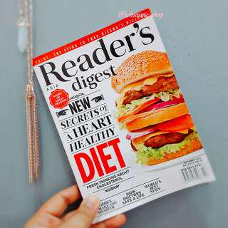 ASIA READER'S DIGEST OCTOBER 2015 EDITION