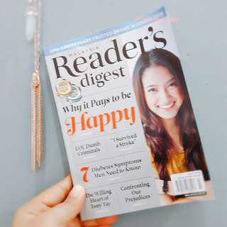 ASIA READER'S DIGEST JULY 2018 EDITION
