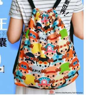 U Magazine別注版One Piece海賊王 Cosper索繩背囊