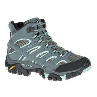 MERRELL ML06060 女中筒登山鞋(淺藍/灰)