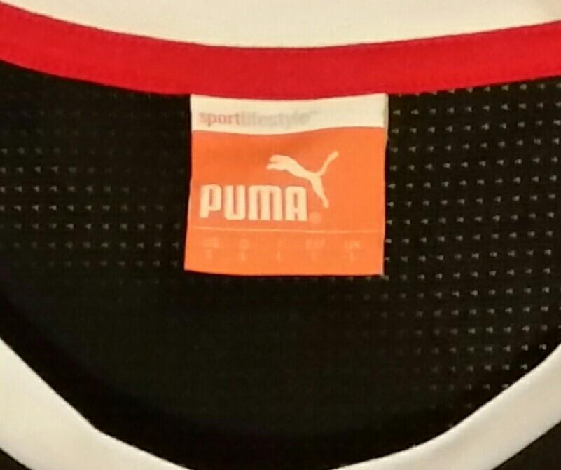 2 New ExDemo Puma Soccer Track Sports USP DRY Womens Shirt L