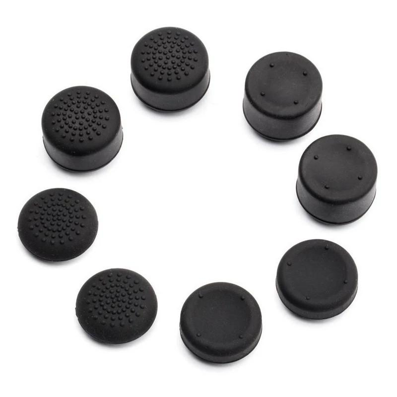 8pcs Enhanced Analog ThumbStick Joystick Grips Extra High Enhancements Cover Caps For PS4/3/2 for XBOX ONE/360 Game Controllers