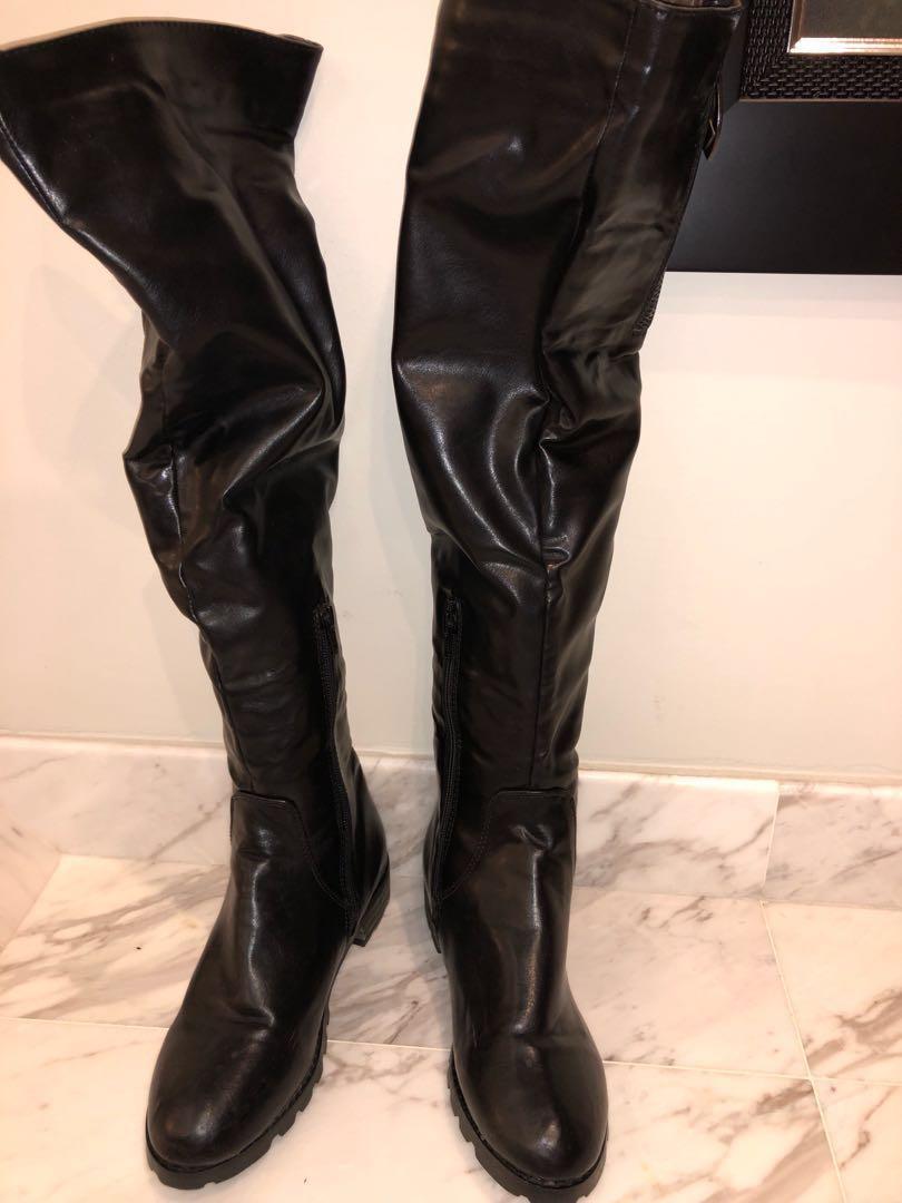 f82e72a330e Above knee high boots