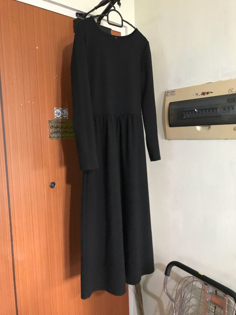 a627c58aa4e ASOS Black Midi Maxi Dress