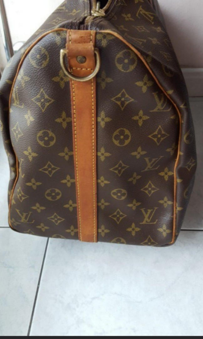 7498d4b56f9 Authentic Louis Vuitton Keepall 50 Bandouliere