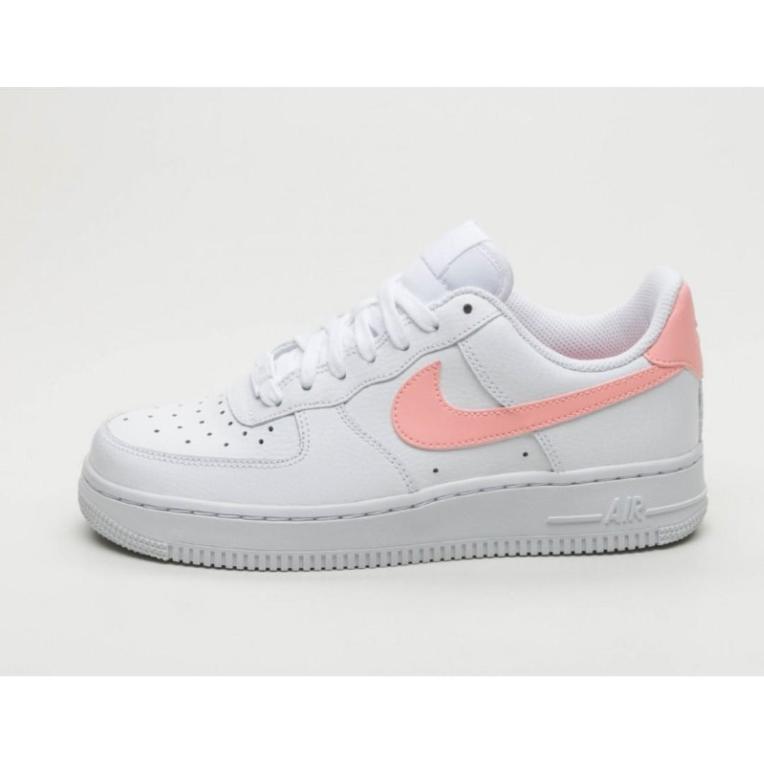 ab0278e8 Authentic Nike Air Force 1 07 White Oracle Pink, Women's Fashion ...
